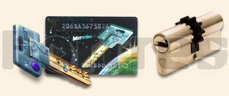 Ключи и карточка Interactive